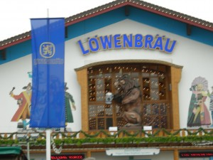 The Löwenbräu Hall